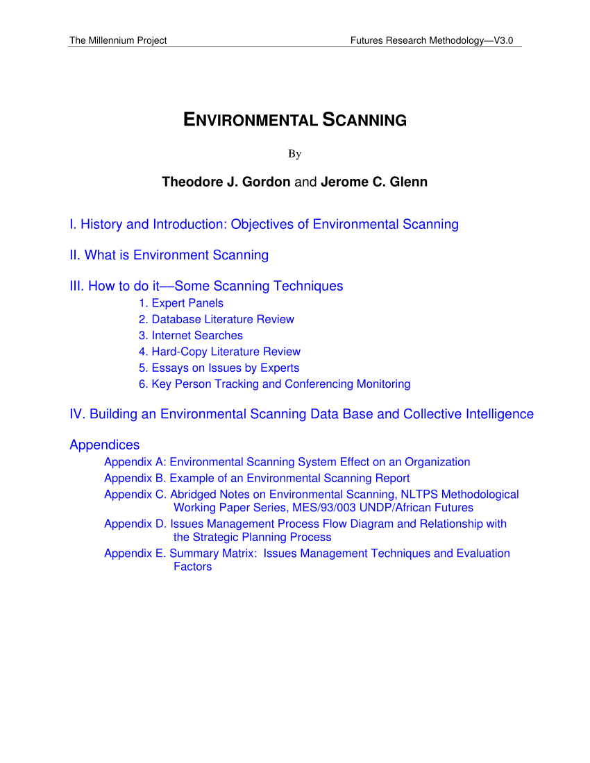 what is the example of environment