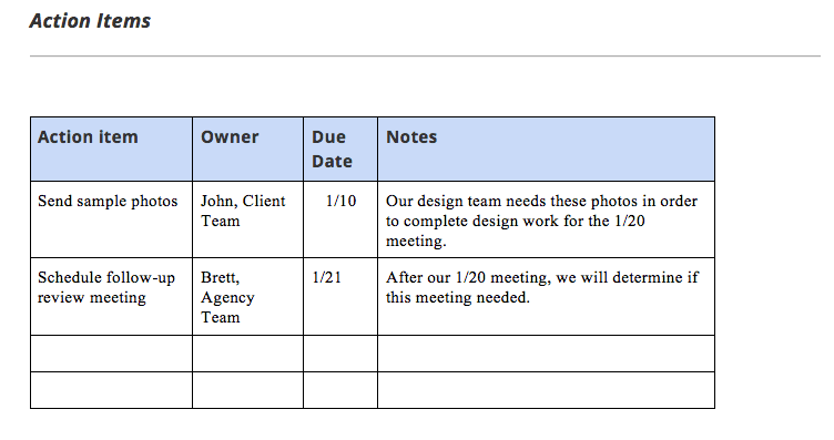 project status report example format