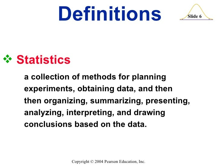 example of statistical conclusion in statistics