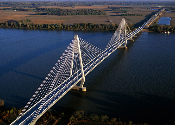 example of cable stayed bridge
