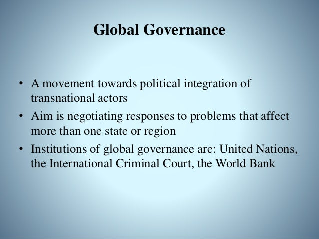 example of reduces sovereignty of wto