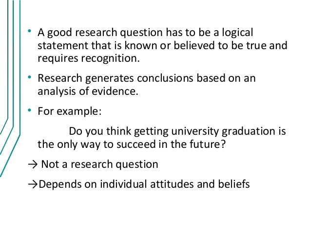 example of a diagnostic research question