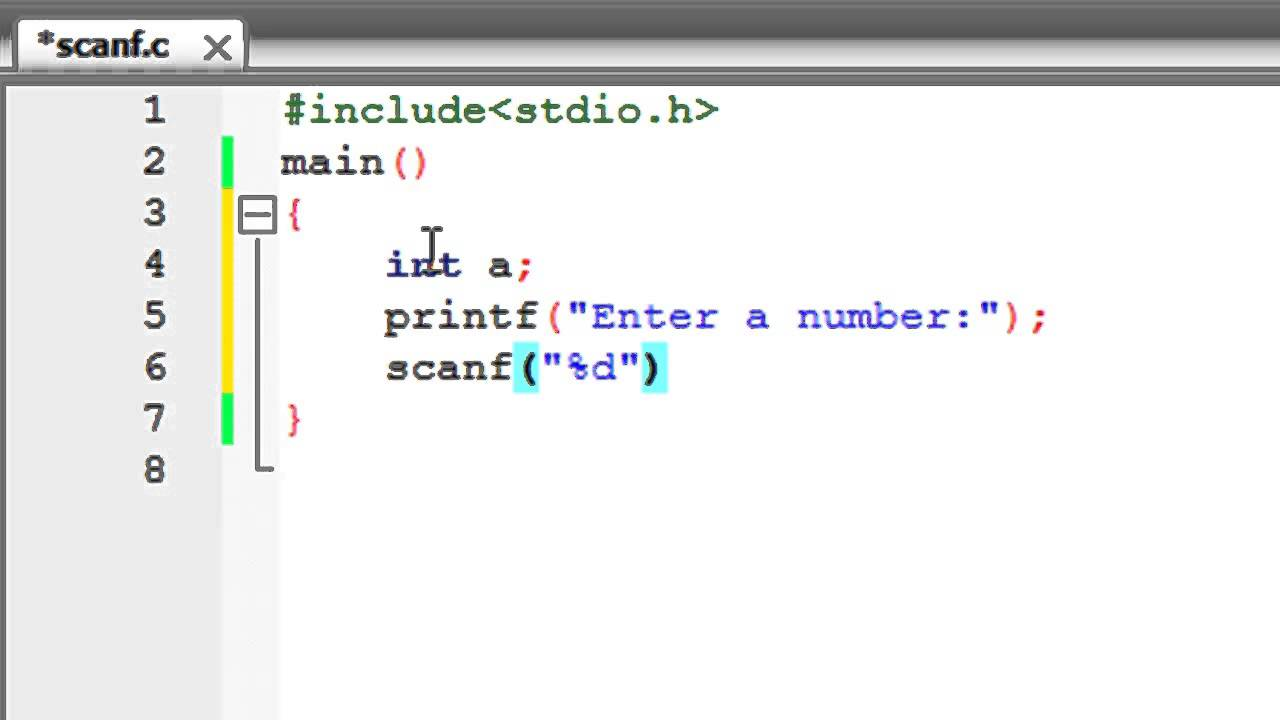 sscanf example in c programming