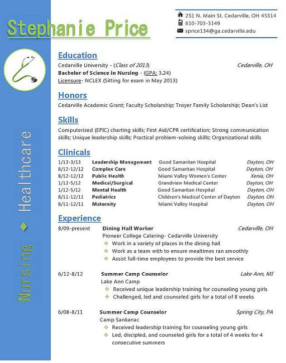 example of great resume pdf