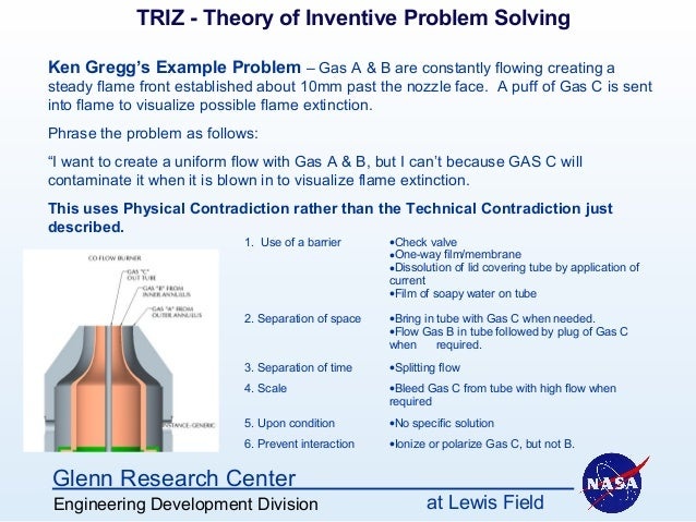 example of problem solving in valve adjustment