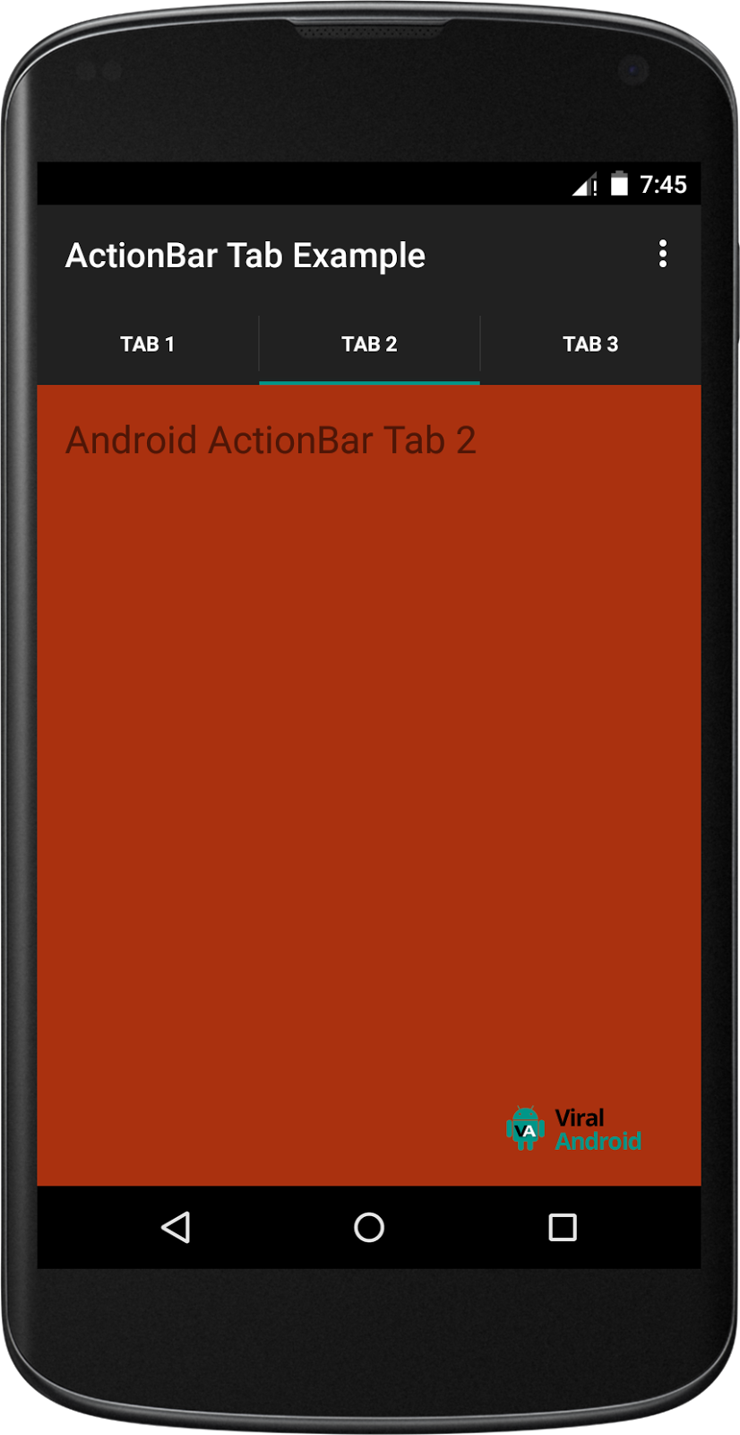 example of gridview in android studio