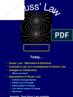 gauss law for magnetism example