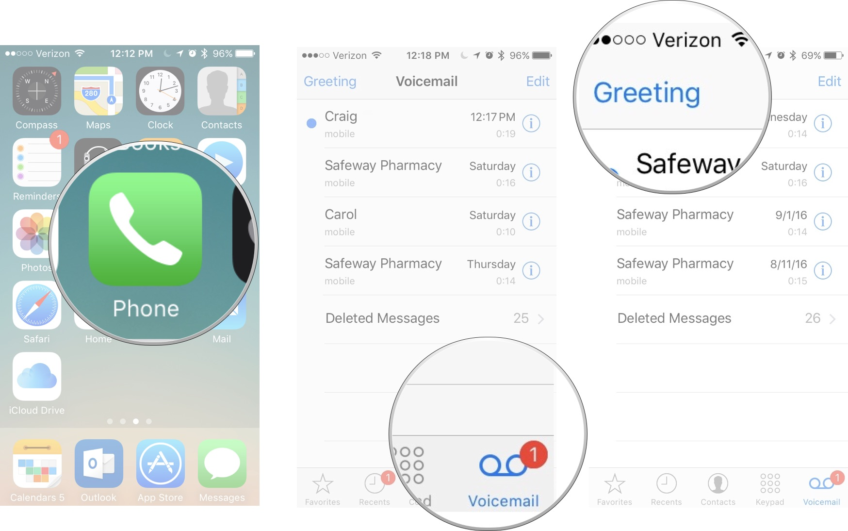 how to set up voicemail voicemail message example